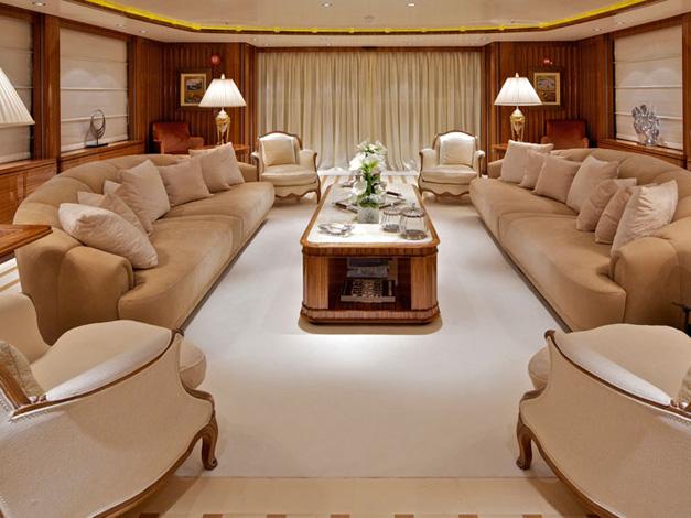 Glavni salon, zavjese, jastuci