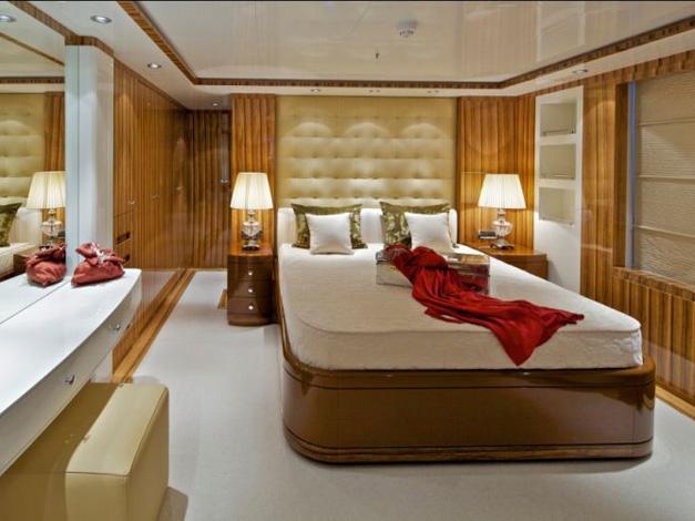 Spavaća soba, zaglavlje, jastuci, prekrivači